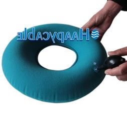 New Inflatable Vinyl Ring Round Seat Cushion Medical Hemorrh
