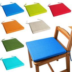 ITALIAN FABRIC Chair Cushions With Ties SEAT PADS Cushion Pa