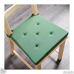 Ikea Justina Chair Pad Green Indoor Outdoor Patio Office Sea