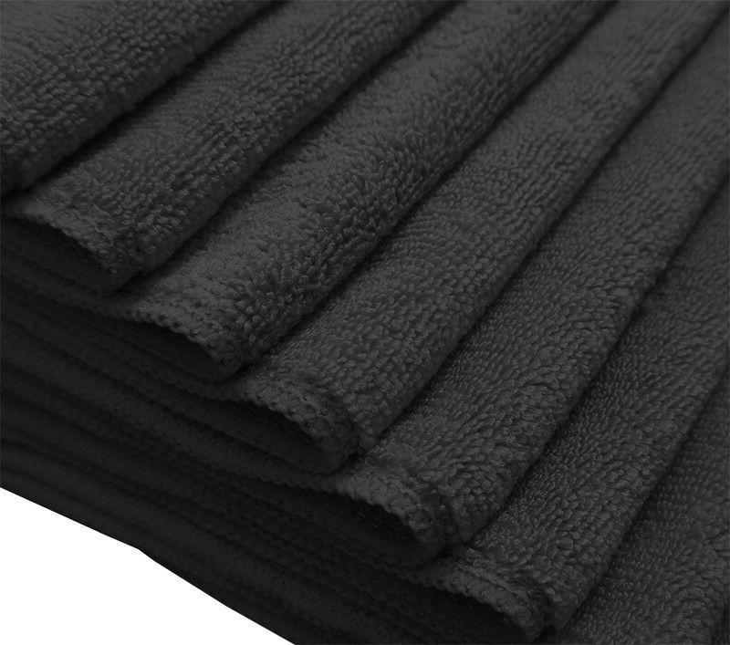 24 microfiber cloths detailing polishing rags 320 gsm