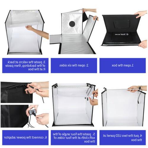 "16"" Light Box Shooting Photo Portable"
