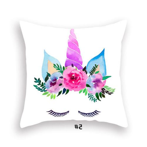 """17*17"""" Cover Pattern Pillowcase Seat Throw Pillow Cover"""