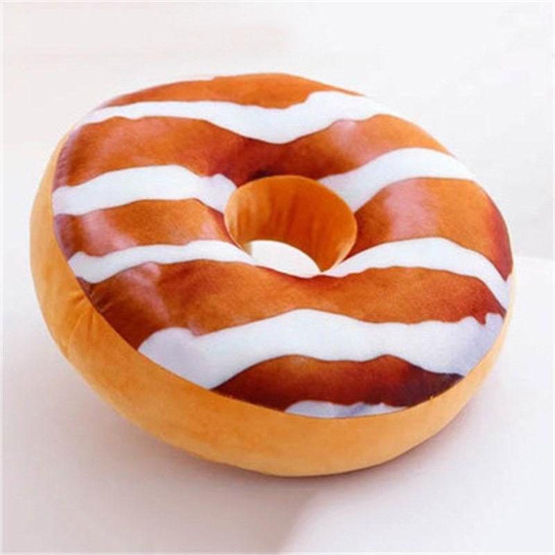 1pc Donut Throw Home Cushion