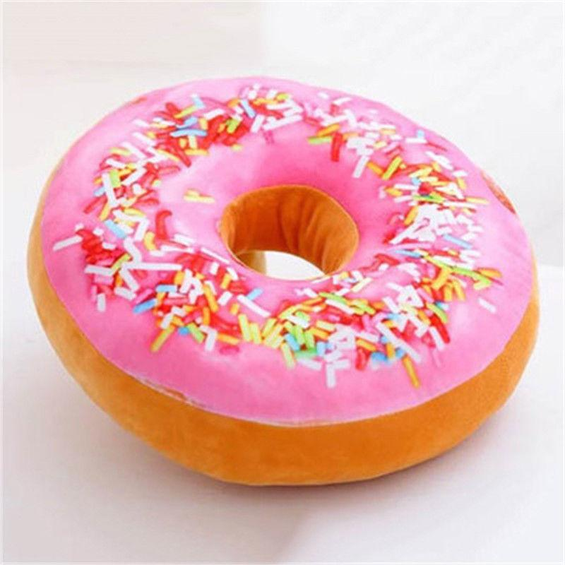 1pc Donut Throw Home Dining Cushion Cover