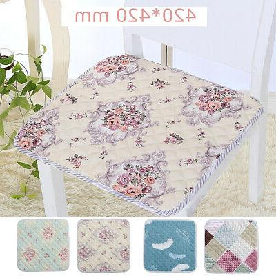 2/4PCS Removable Seat Pad Chair Patio  