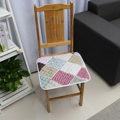 2/4PCS Seat Pad Chair Cushion Patio Home  