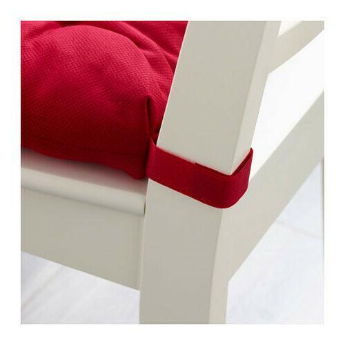 IKEA Chair Pad Cushion Red Home NEW