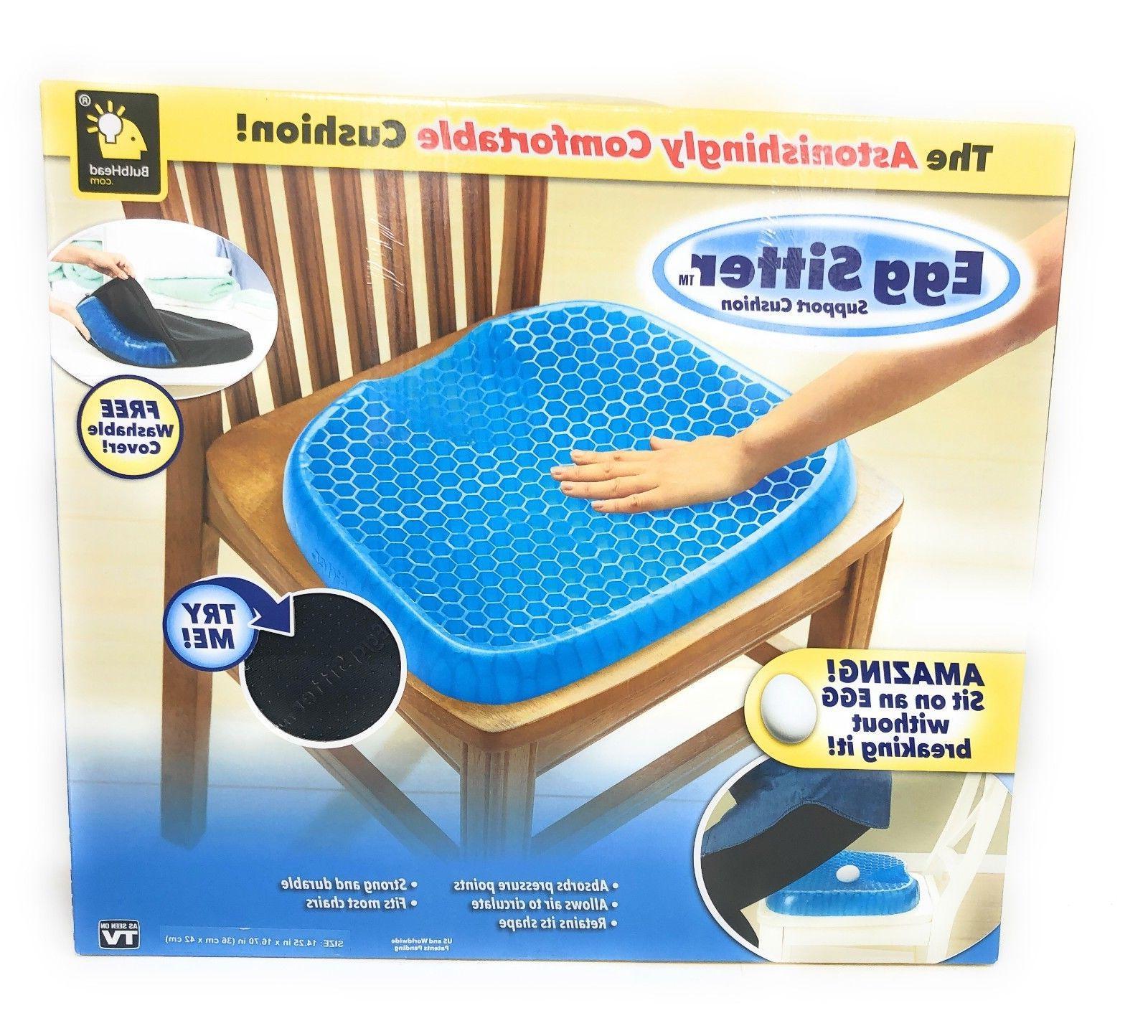 BulbHead Cushion Non-Slip Breathable Honeycomb