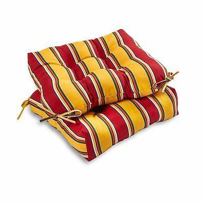 20 outdoor chair seat cushion set of
