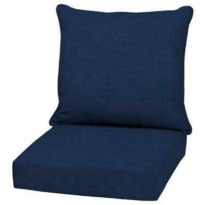 24 deep seat chair patio cushions set
