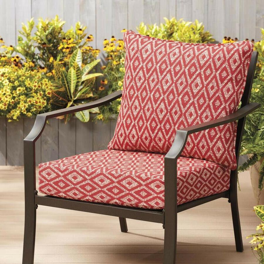 2pc Ruby Deep Seat Cushion Chair Furniture 24