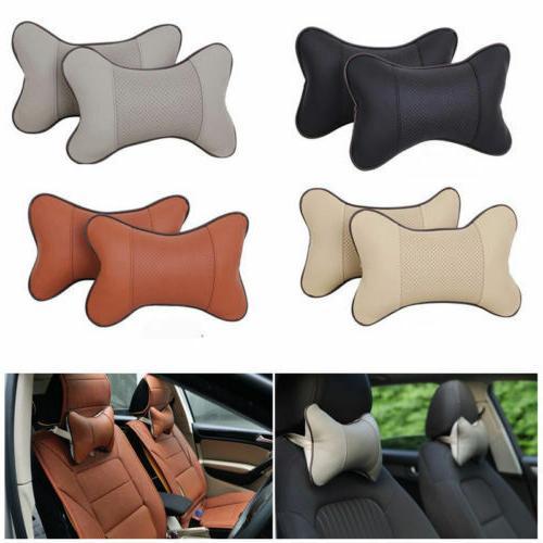 2pcs travel auto car seat head neck