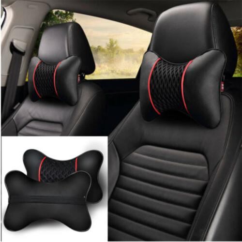 2x PU Leather Cushion Support Seat