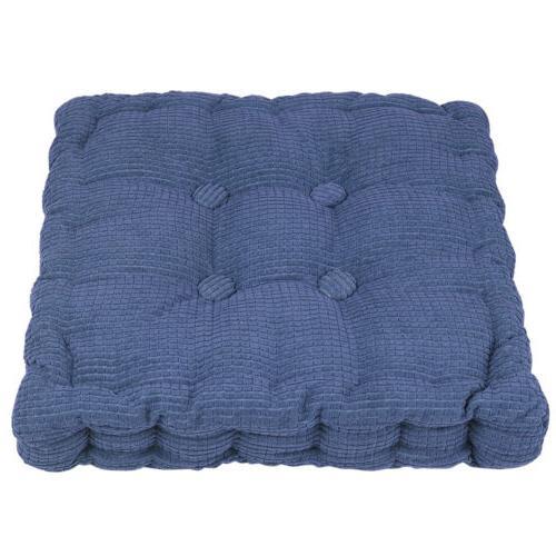 "3"" Thick Cushion Pad Chair Square Patio Car Seat"