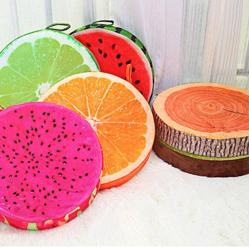 3D Fruit Cushion Kitchen Car Home Deco
