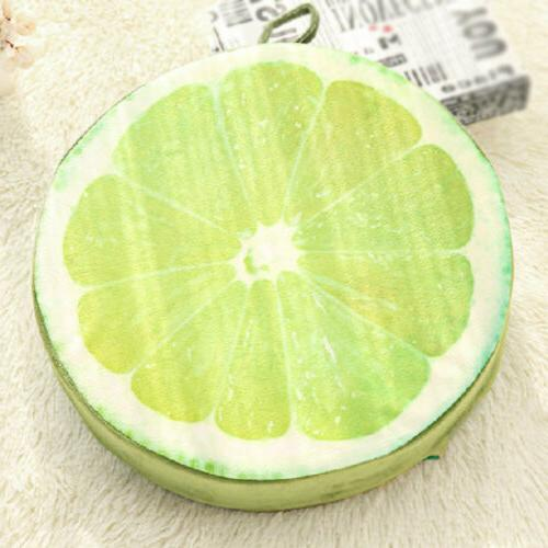 3D Fruit Sofa Back Decor Round Seat Pad xy6n