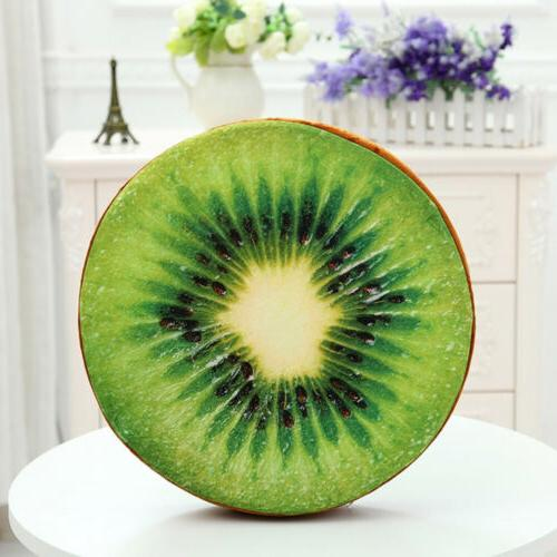3D Fruit Chair Back Round Pad xy6n