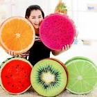 3d fruit soft round pillow plush cushion