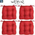 4 Dining Seat Cushion Chair Set Patio Garden Outdoor Room Re