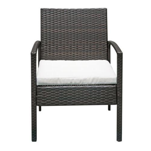 Furniture Sofa Cushioned Seat Wicker