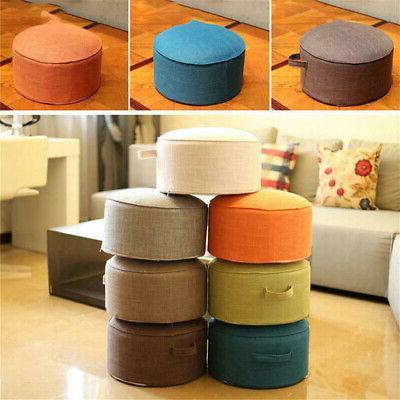 40cm Pouf Tatami Floor Pillow Straw Mat