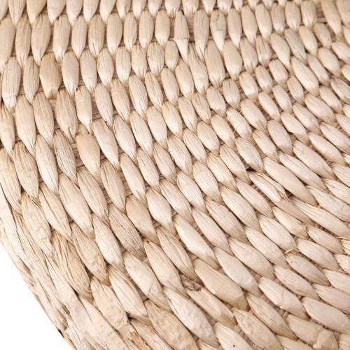 40cm Pouf Tatami Floor Cushion Straw Soft Mat