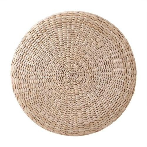 40cm Pouf Tatami Floor Straw Yoga Mat