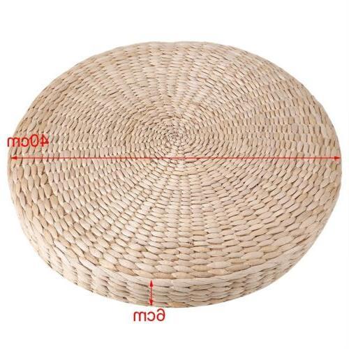 40cm Pouf Floor Straw Mat