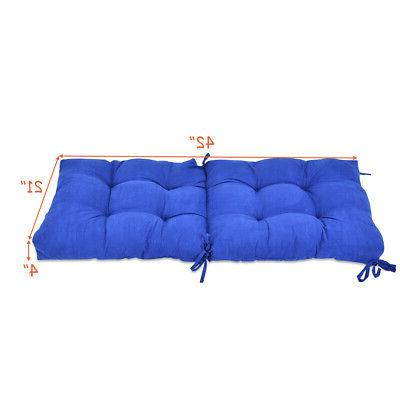 "42"" Tufted Pillow Swing Glider"