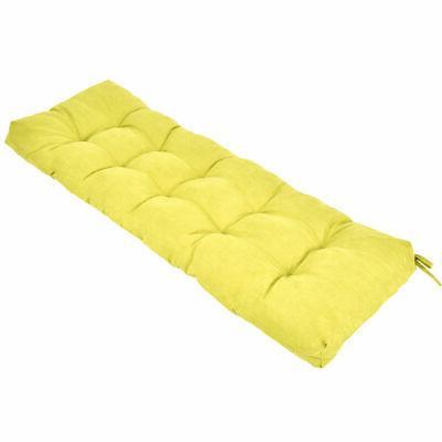 51 Bench Tufted Pillow Swing Kiwi