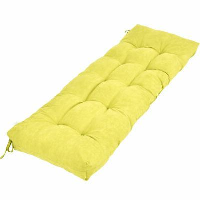 51 inch bench cushion tufted pillow indoor