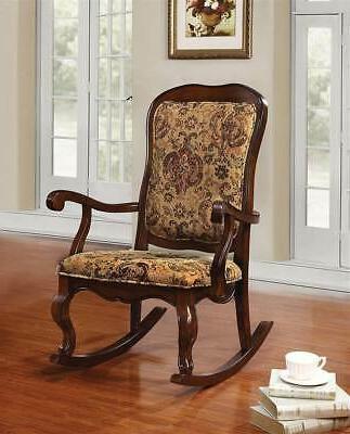 59390 sharan cherry rocking chair
