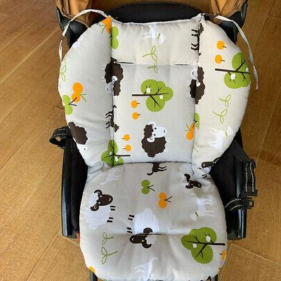 Infant Stroller Cotton Cushion Kids Seat Mat Pad