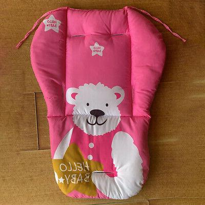 Infant Baby Stroller Cotton Print Cushion Kids Pad