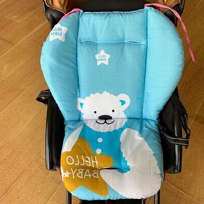 5Types Universal Cotton Covers Pram Car Seat Thermal Cushion
