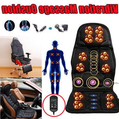 8 mode massage seat cushion with heated
