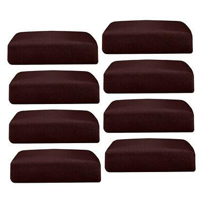 8pcs Soft Seat Cushion Protector