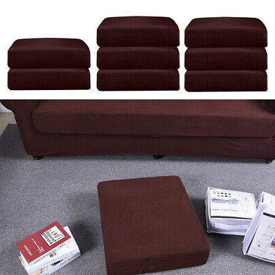 8pcs Soft Stretch Sofa Protector Couch Chair