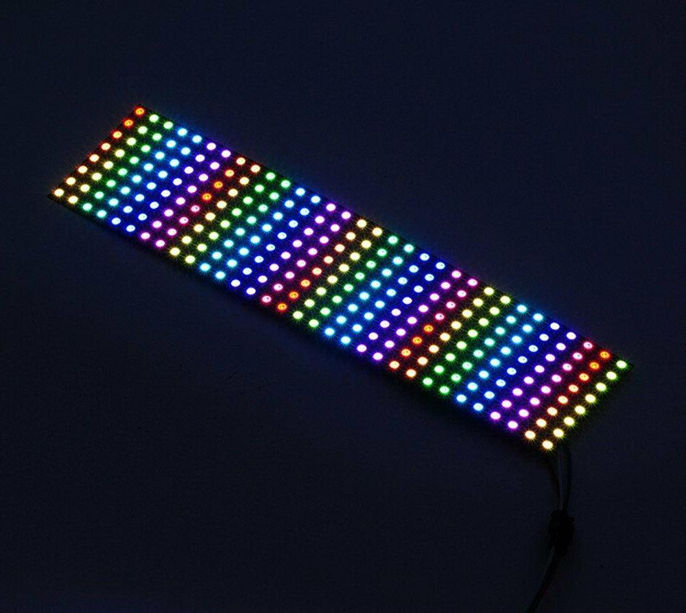8x8 WS2812B 5050 RGB Flexible LED Pixels DC5V