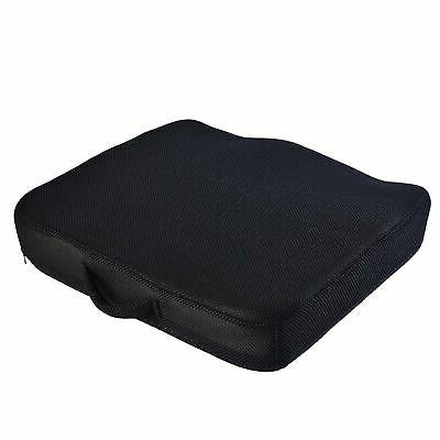 AERIS Memory Foam Premium Large Office Chair Pad with a Buck