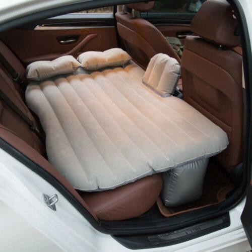 Car Air Mattress Cushion Two Pillows For Camping