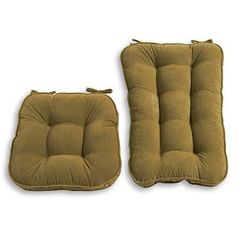 Greendale Home Fashions Jumbo Rocking Chair Cushion Set Hyat