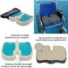 Memory Foam Seat Cushion With TravelMate Gel Provides Suppor