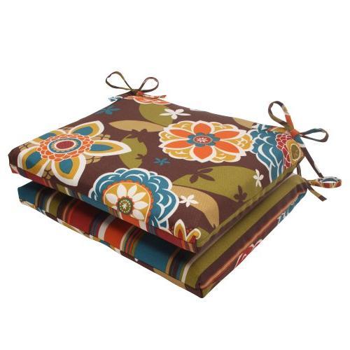 Pillow Perfect Indoor/Outdoor Annie Westport Reversible Squa