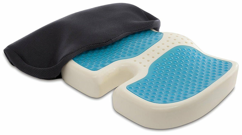 TravelMate Coccyx Orthopedic Gel-enhanced Memory Foam Seat C