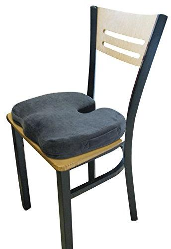 TravelMate Seat – for Chair & Car Helps from Tailbone Pain Reduce on Coccyx – Non-Slip