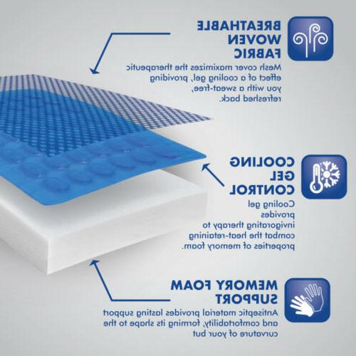 ACDelco Orthopedic Cooling Therapy Memory Foam +