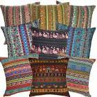 Ah3 Cotton Cushion Cover*Striped sofa seat Throw Oblong Pill
