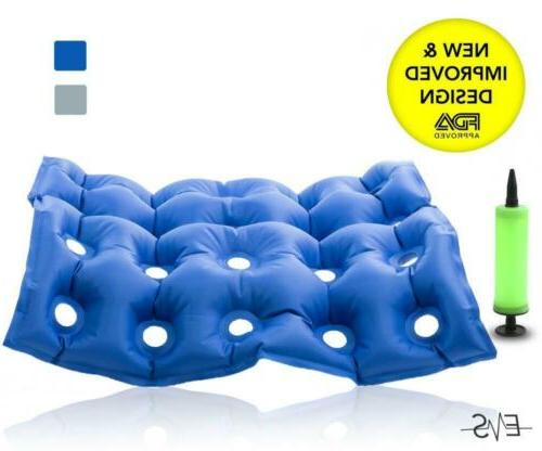 air inflatable seat cushion waffle