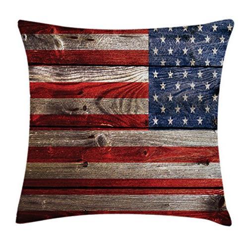 american flag throw pillow cushion
